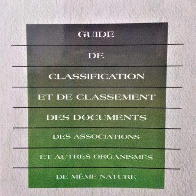 1997, 54 pages ISBN : 978-2-921857-03-1