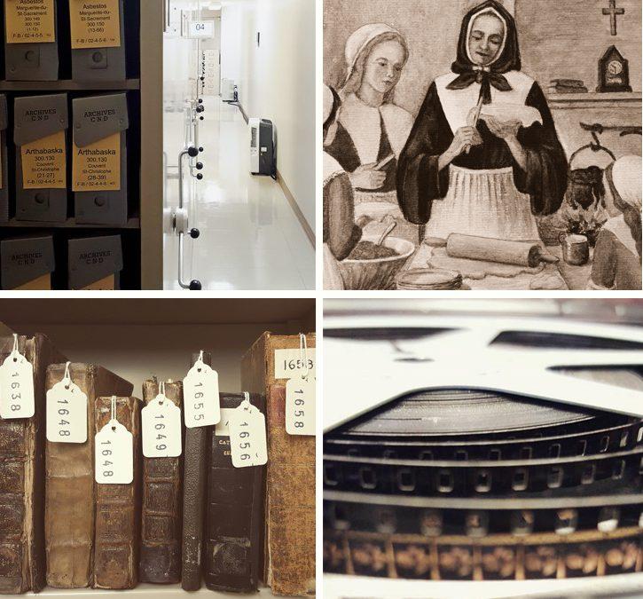 Archi-visite des archives de la Congrégation de Notre-Dame