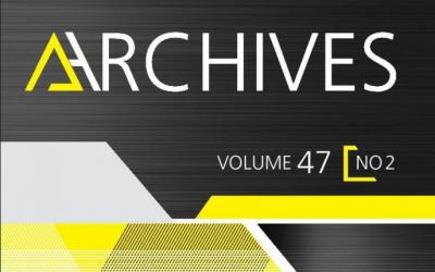 Revue Archives – Nouveau numéro!