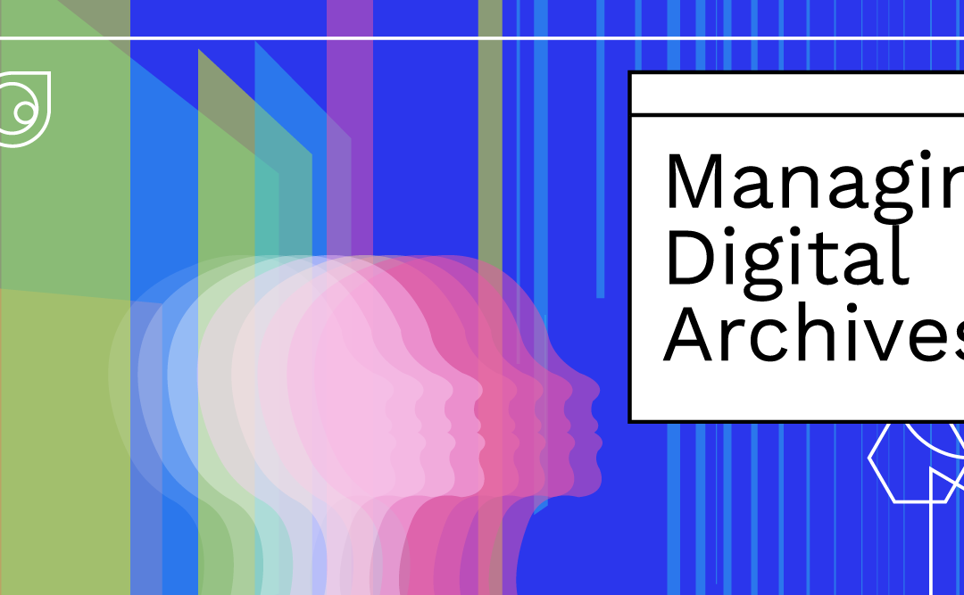 """Annonce du nouveau cours en ligne de l'ICA """"Gestion des archives numériques"""" !"""